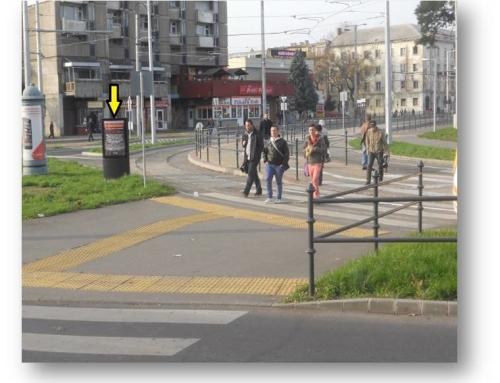 Debrecen, Vasútállomás, (állomás felé)