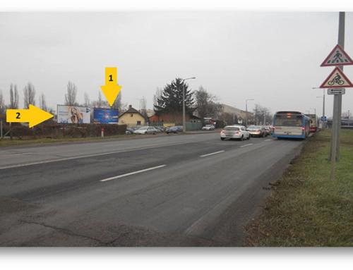 Debrecen, Balmazújvárosi út 1-es, 2-es felület