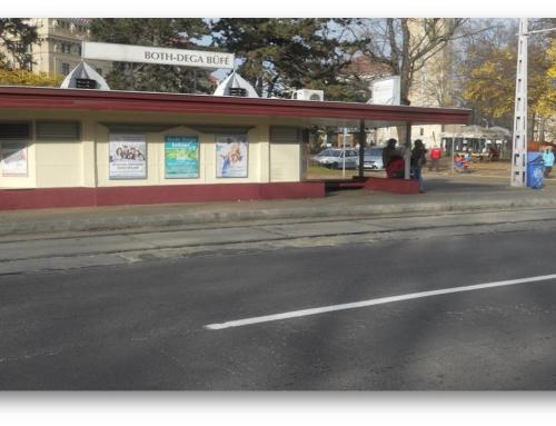 Debrecen, Egyetem villamosmegálló (Bothdega)