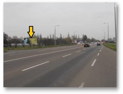 Debrecen, Balmazújvárosi út 3-asfelület